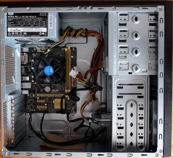 Components in Coolermaster chassis